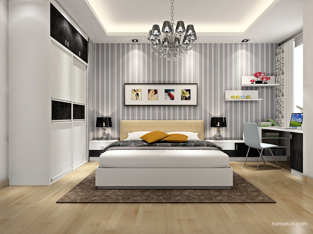 简约主义卧房家具A16952