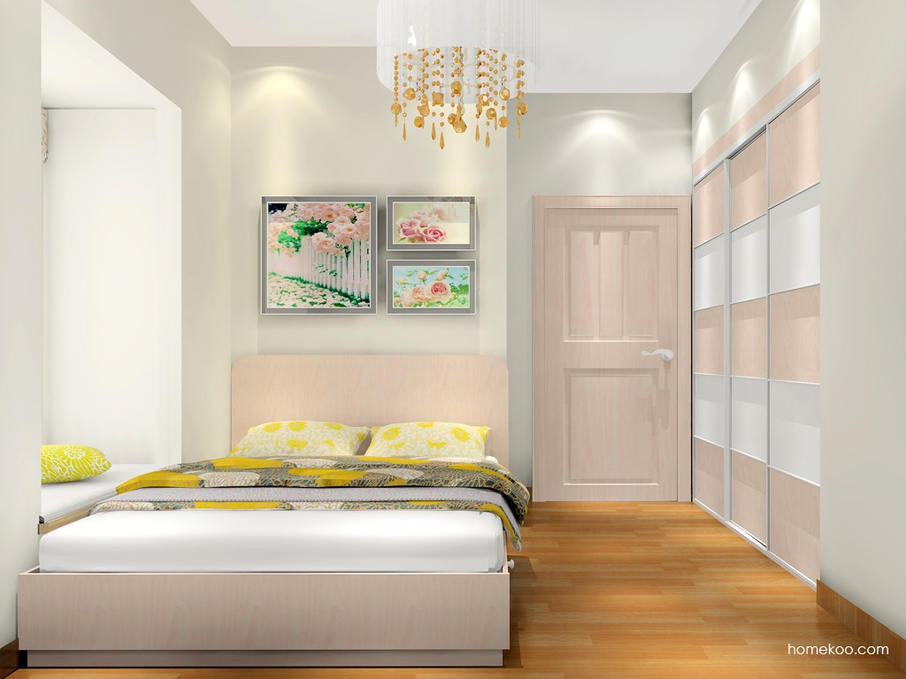 北欧阳光卧房家具A16956
