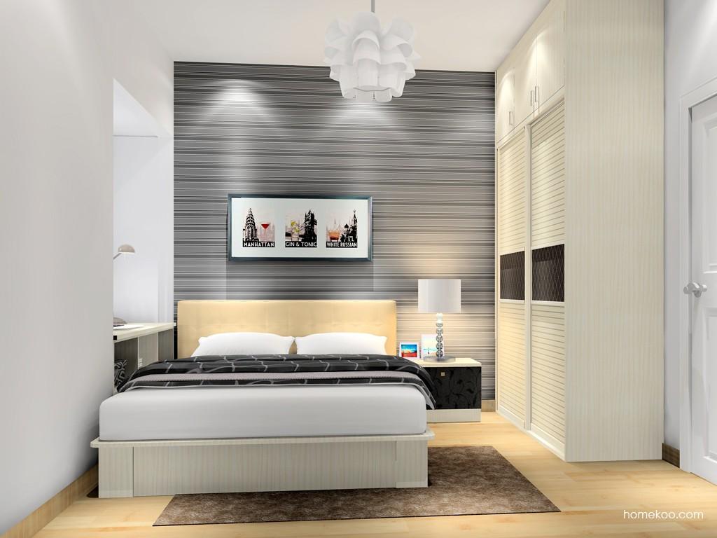 米兰剪影卧房家具A16968