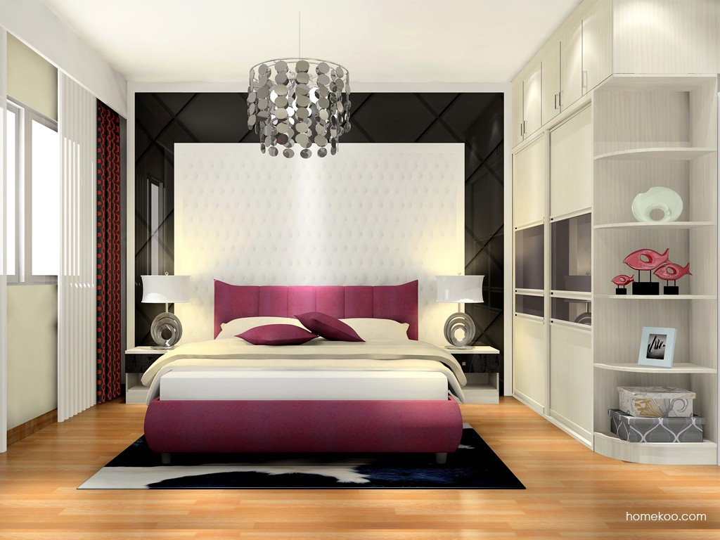 米兰剪影卧房家具A16979