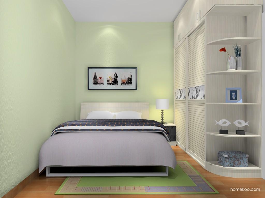 米兰剪影卧房家具A16982