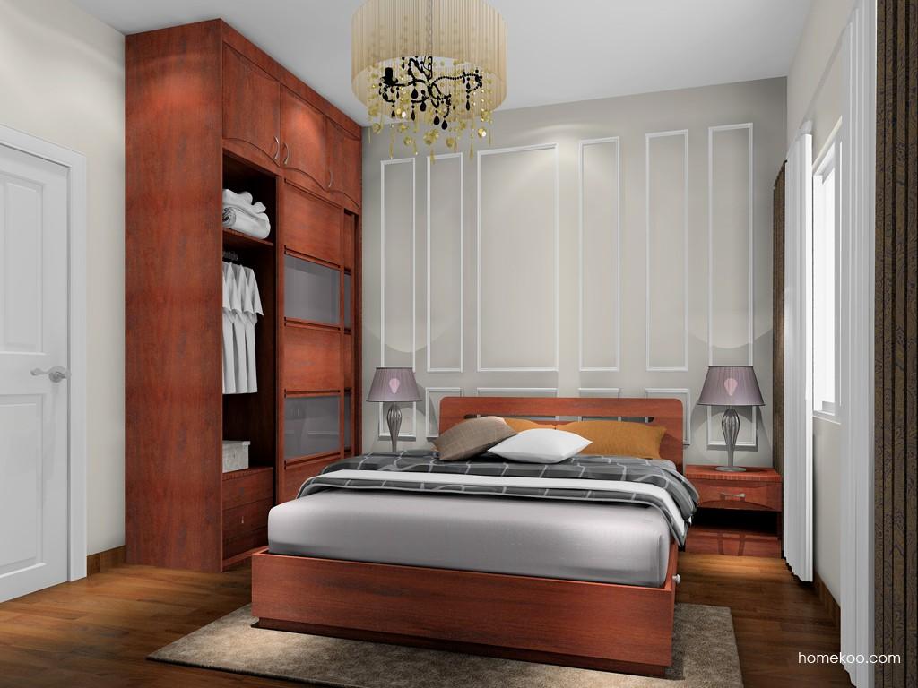 挪威月色卧房家具A16990