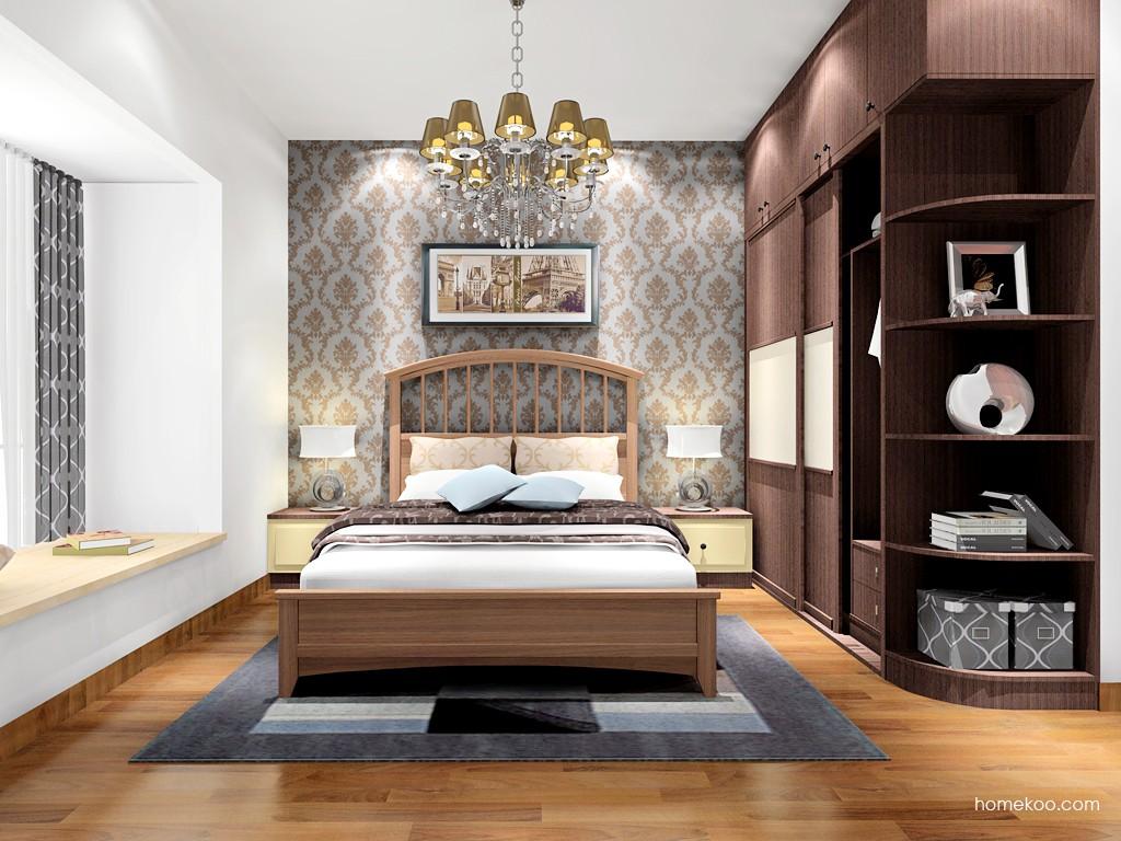 卡罗摩卡卧房家具A17002