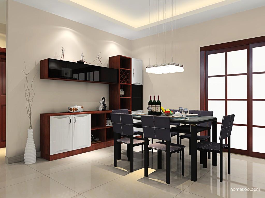 挪威月色餐厅家具E16606