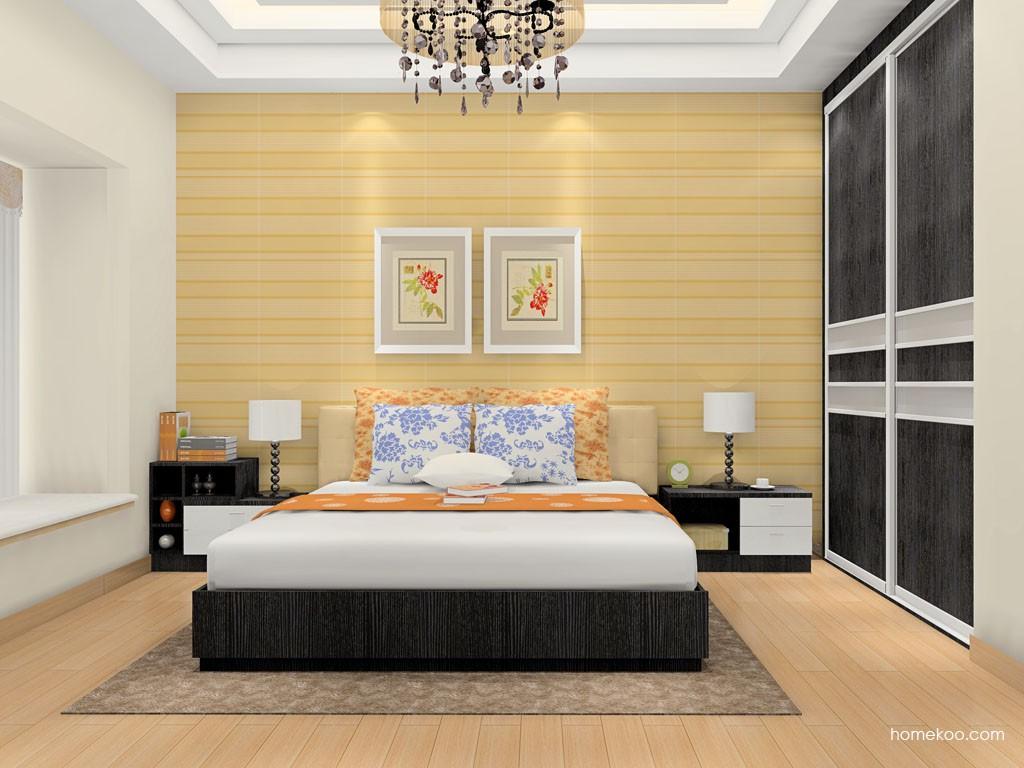 简约主义卧房家具A17007