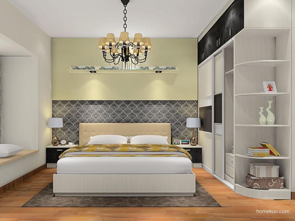米兰剪影卧房家具A17008