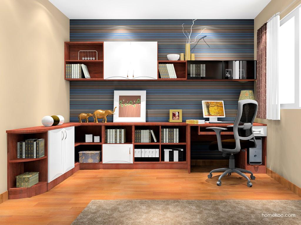 挪威月色书房家具C17022