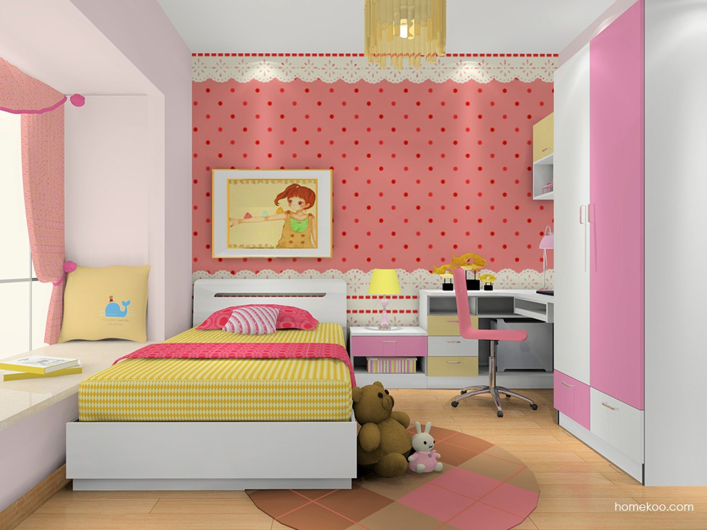 女孩的梦青少年房B16899