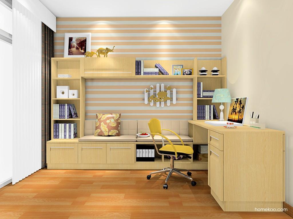 丹麦本色书房家具C17030
