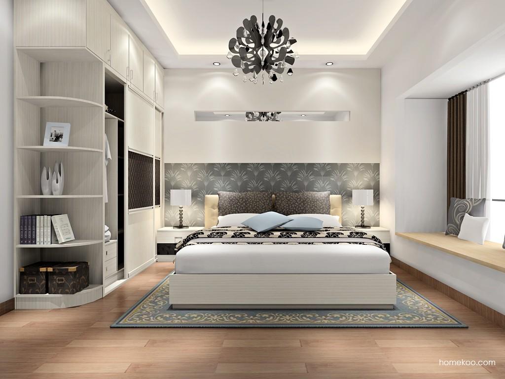 米兰剪影卧房家具A17012