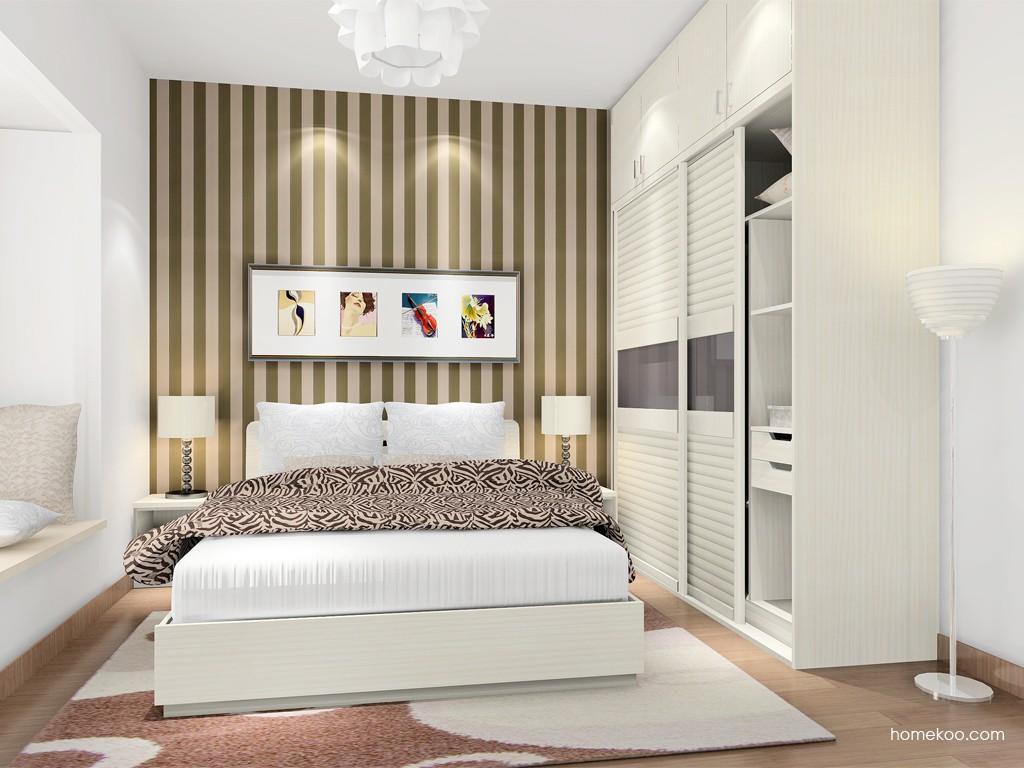 米兰剪影卧房家具A17014