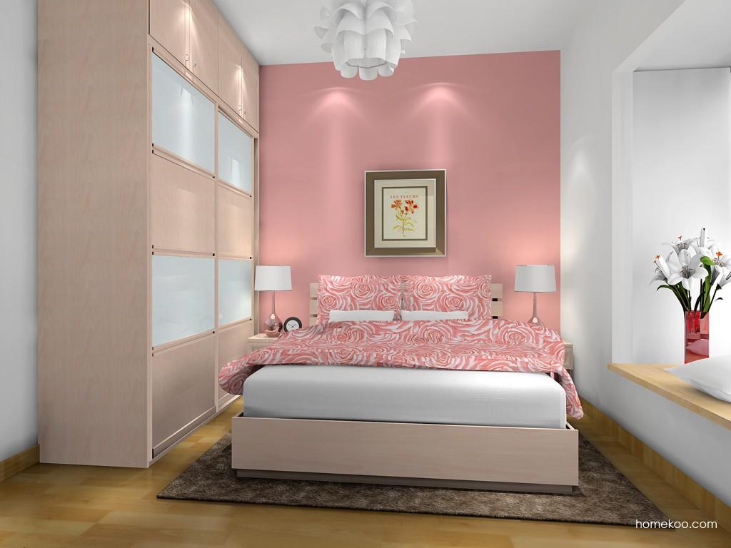 北欧阳光卧房家具A17015