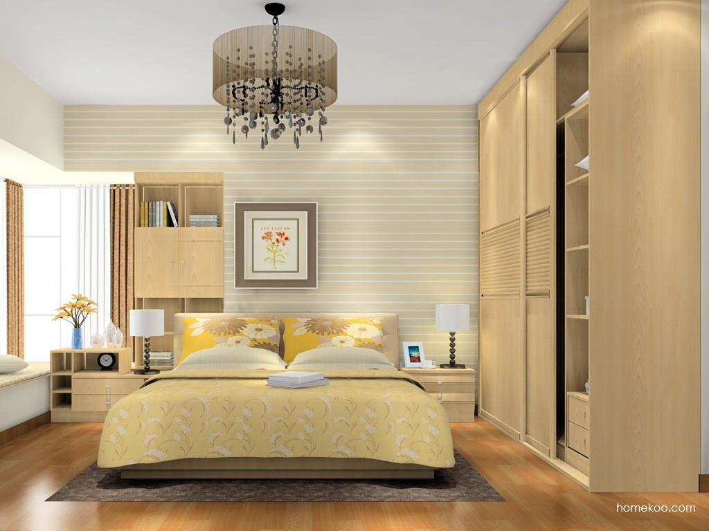 北美枫情卧房家具A17029