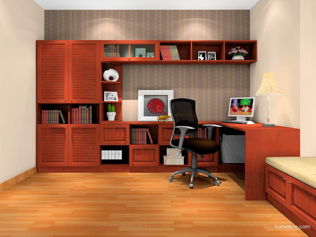 新中式主义书房家具C17041