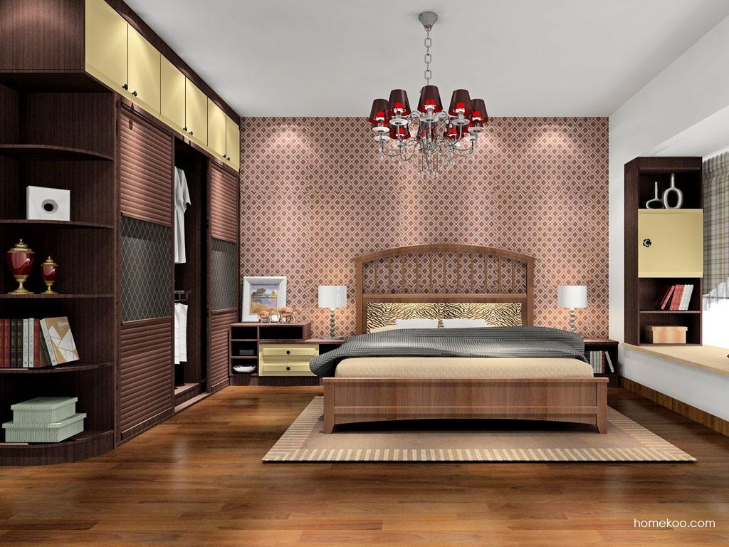 卡罗摩卡卧房家具A17035