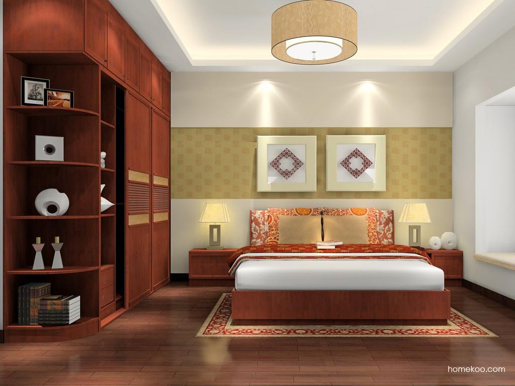 新中式主义卧房家具A17036
