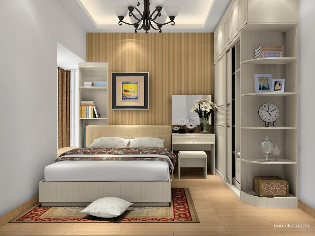 英伦印象卧房家具A17038