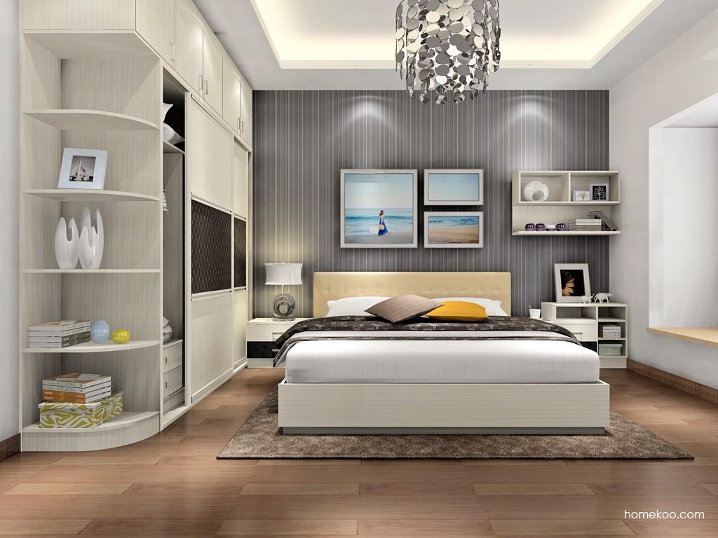 米兰剪影卧房家具A17040