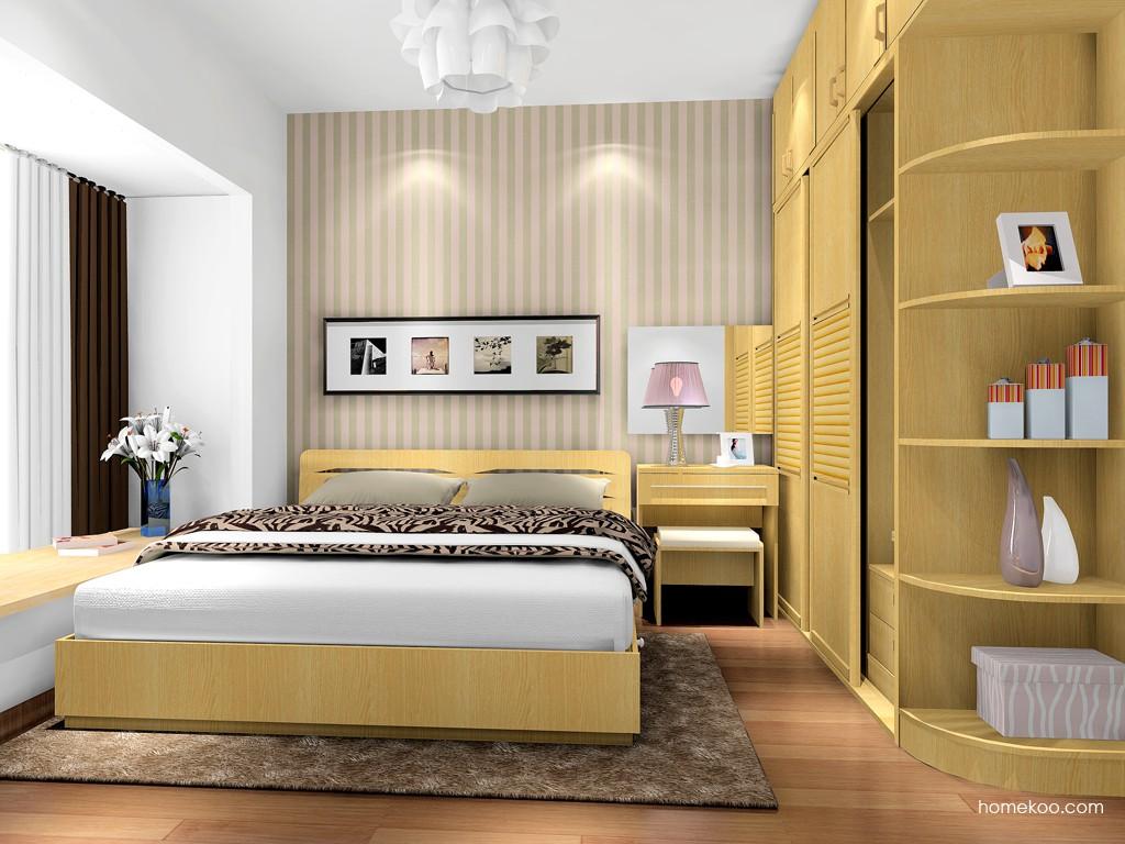 丹麦本色卧房家具A17041