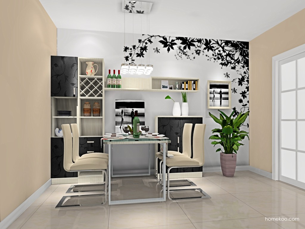 米兰剪影餐厅家具E16611