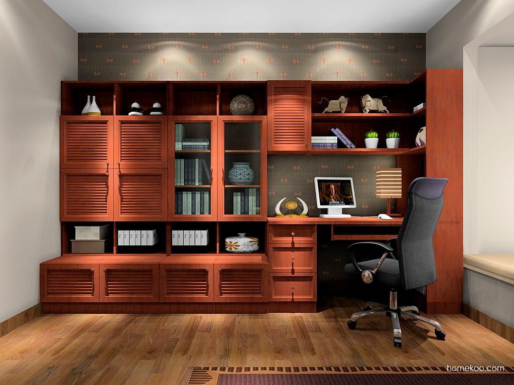 新中式主义书房家具C17038