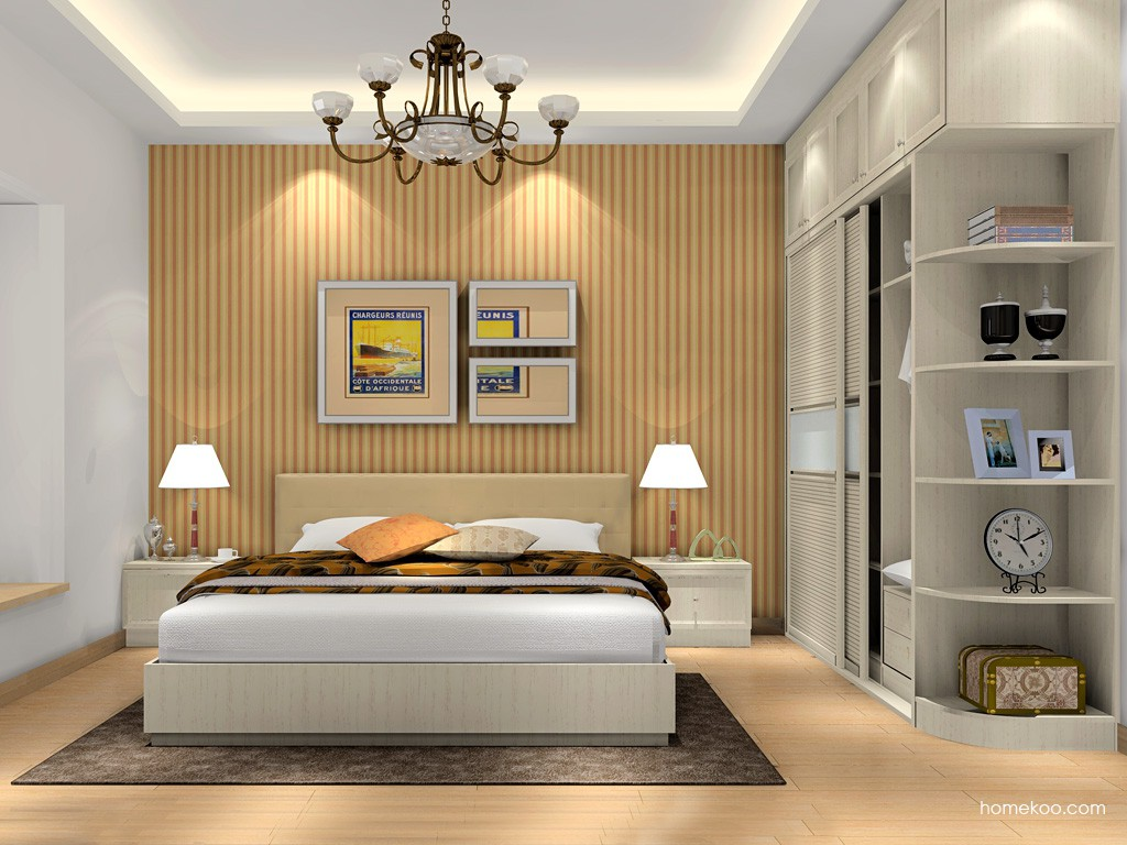 英伦印象卧房家具A17049