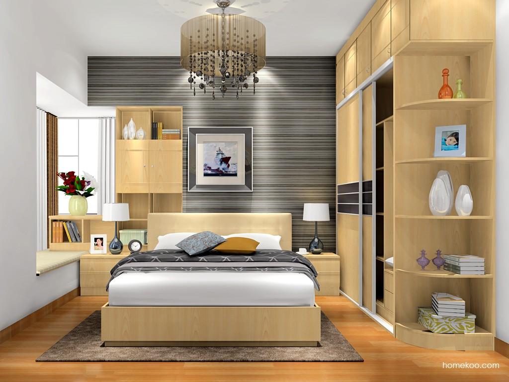 北美枫情卧房家具A17052