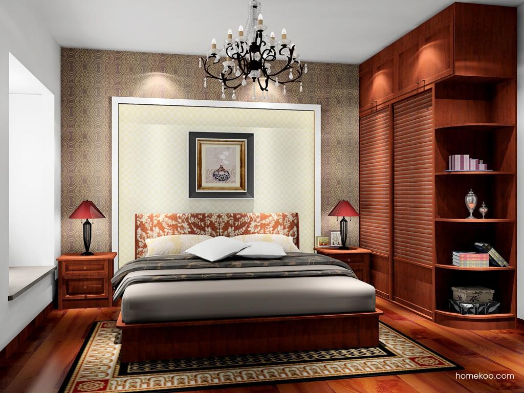 新中式主义卧房家具A17060