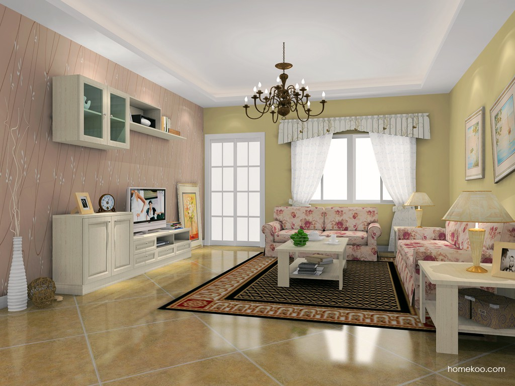 英伦印象客厅家具D16614