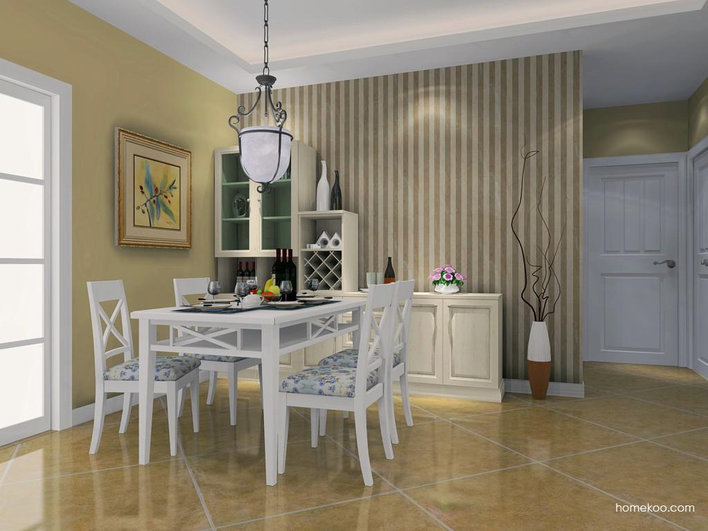 英伦印象餐厅家具E16613