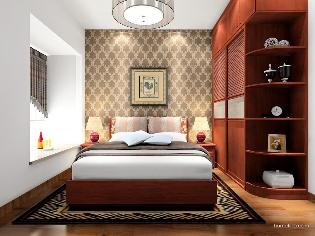 新中式主义卧房家具A17062