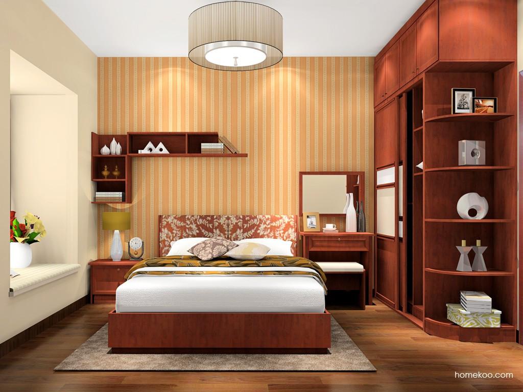 新中式主义卧房家具A17066