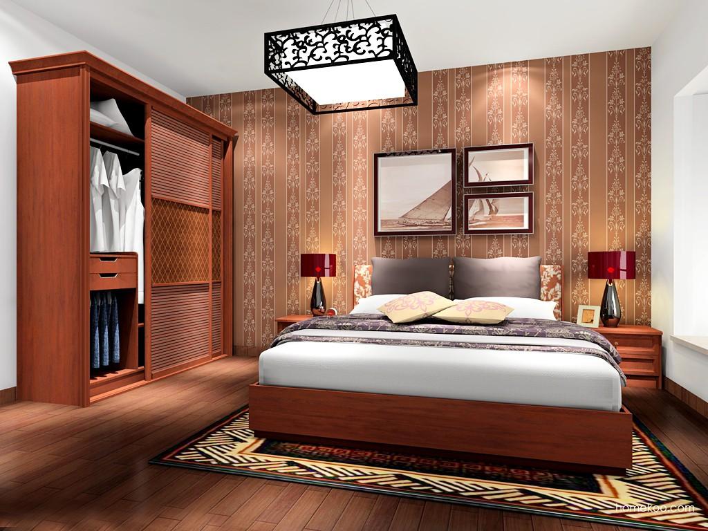 新中式主义卧房家具A17067