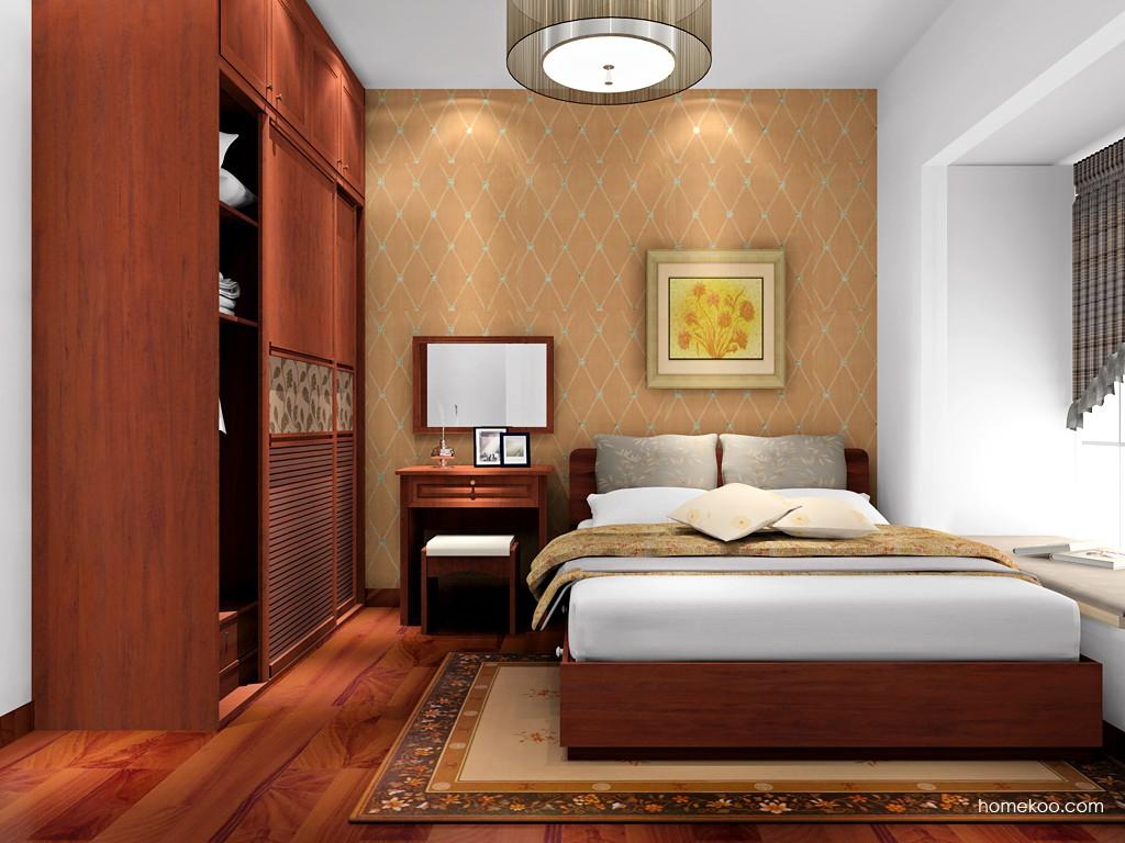 新中式主义卧房家具A17069