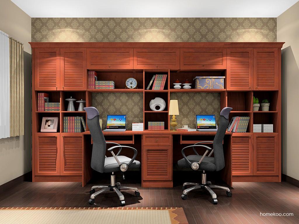 新中式主义书房家具C17073