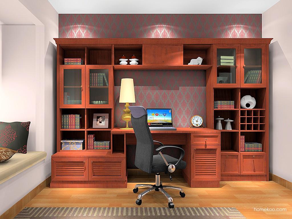 新中式主义书房家具C17076
