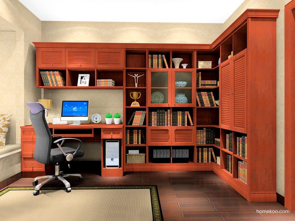 新中式主义书房家具C17078