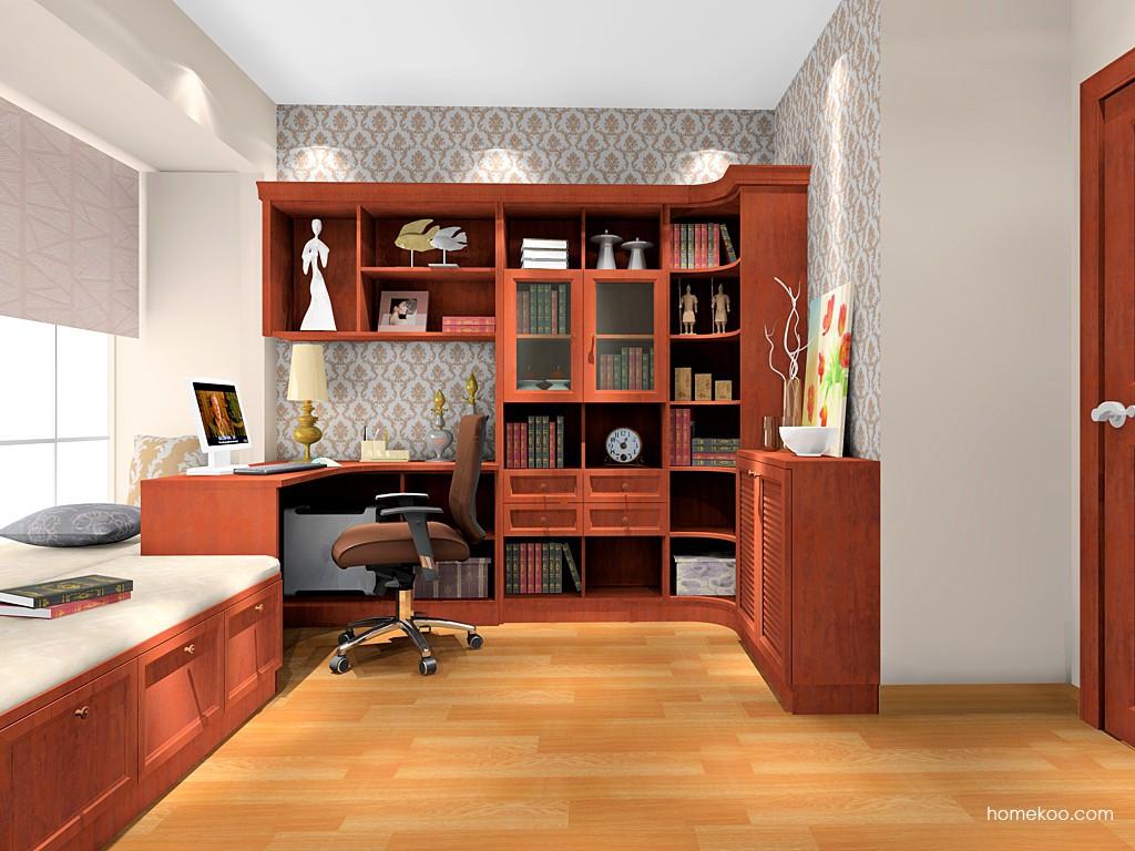 新中式主义书房家具C17079