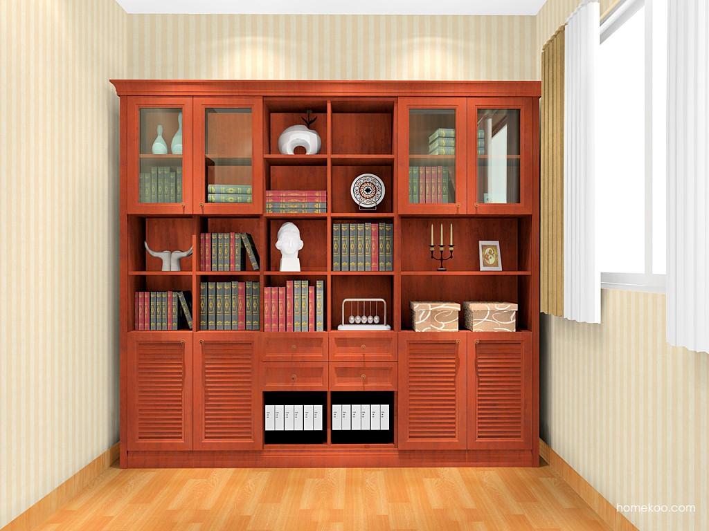 新中式主义书房家具C17080