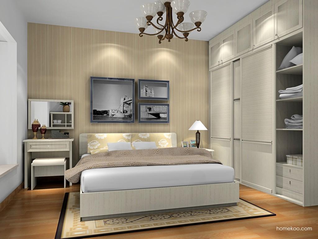 英伦印象卧房家具A17081