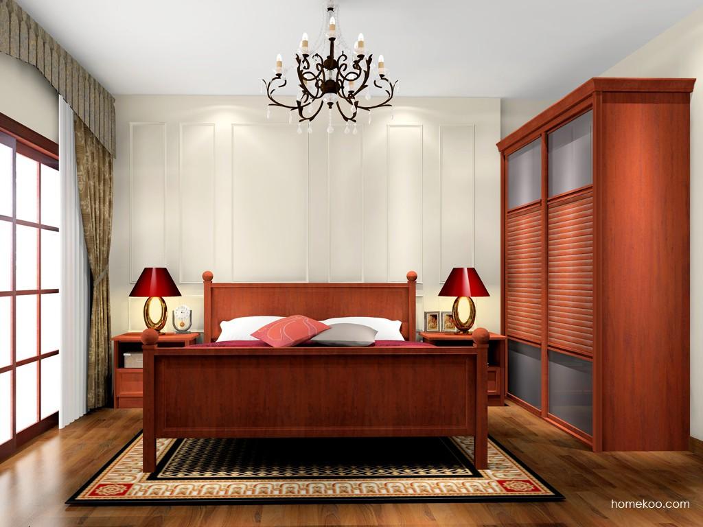 新中式主义卧房家具A17082