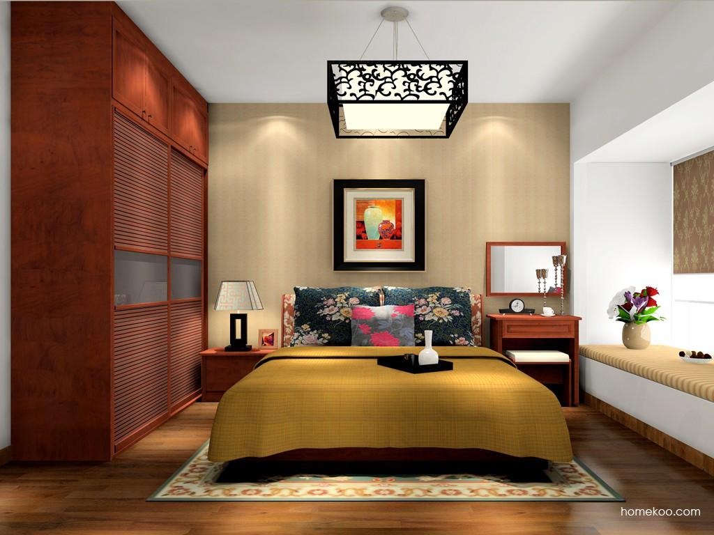 新中式主义卧房家具A17083