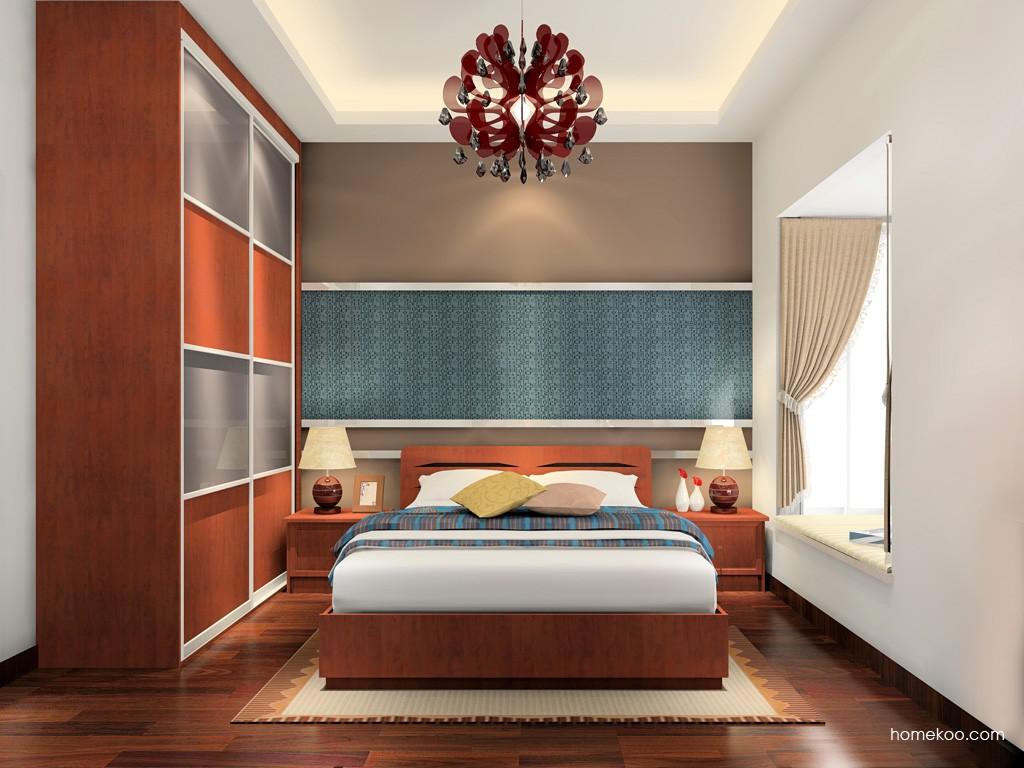 新中式主义卧房家具A17085
