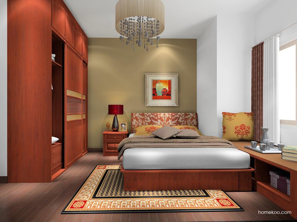 新中式主义卧房家具A17088