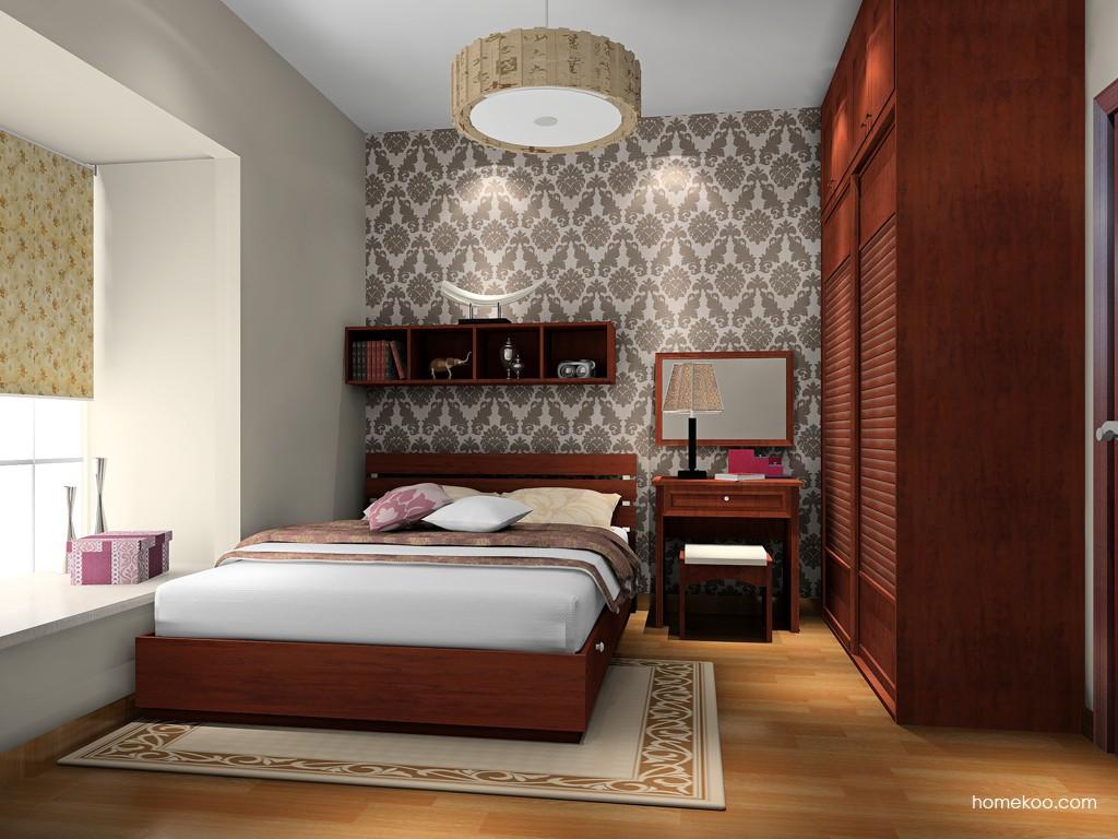 新中式主义卧房家具A17092
