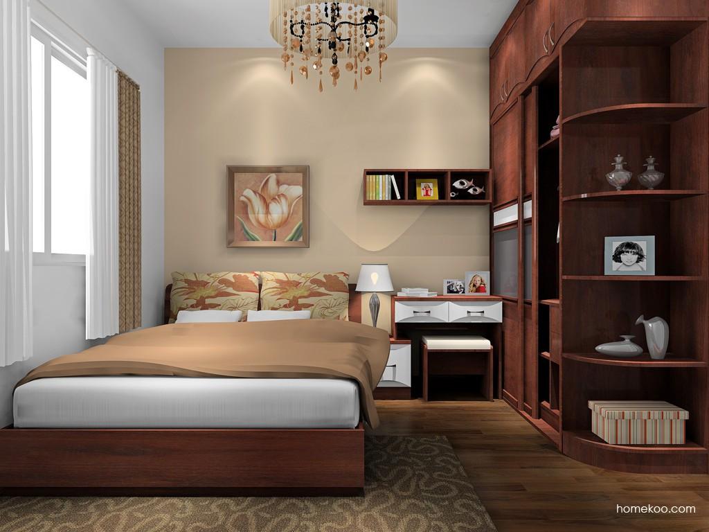 挪威月色卧房家具A17101