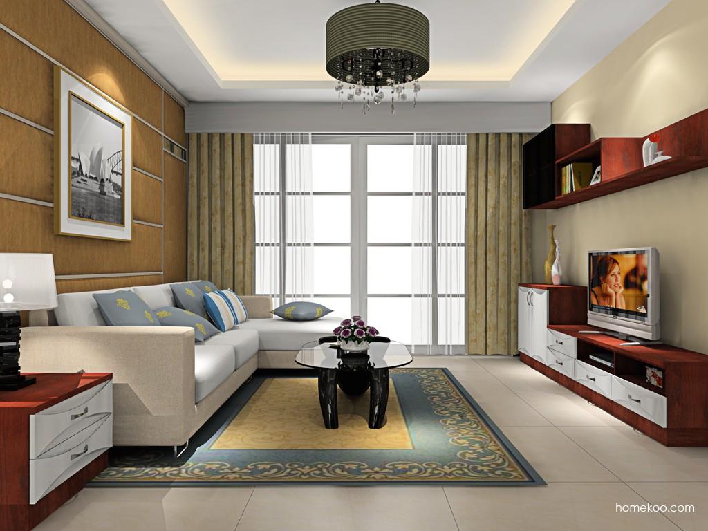 挪威月色客厅家具D16615
