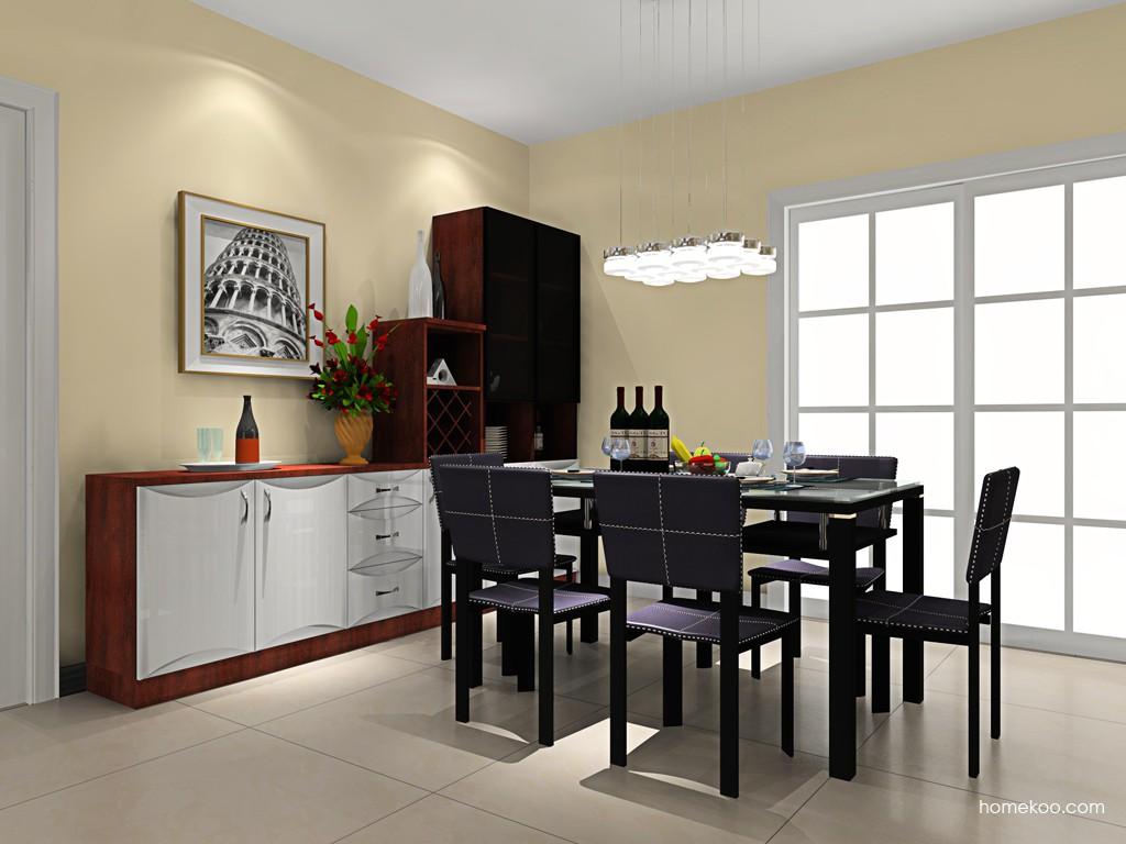 挪威月色餐厅家具E16614