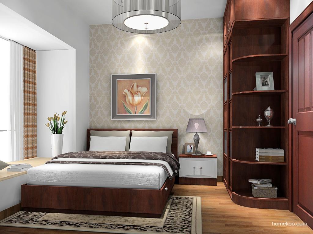 挪威月色卧房家具A17113