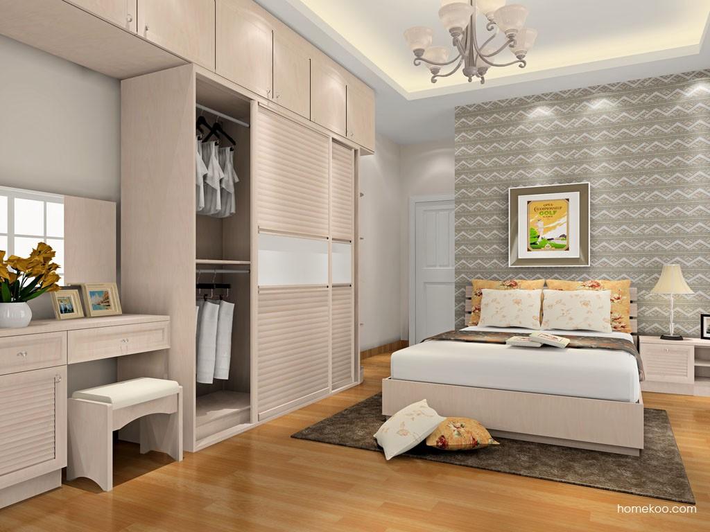 北欧阳光卧房家具A17116